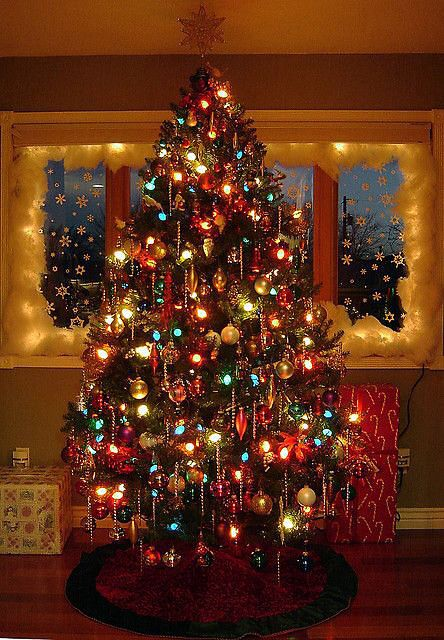 Pin By Debbie Hill On Christmas Old Fashion Christmas Tree