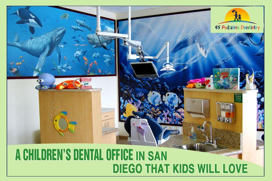 A Children's Dental Office in San Diego that Kids Will