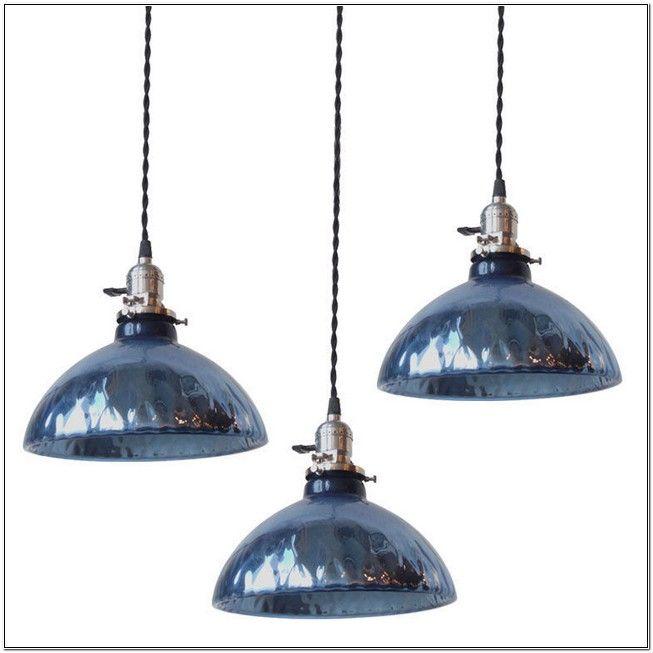 Blue mercury glass pendant lights colors lighting pinterest blue mercury glass pendant lights mozeypictures Choice Image