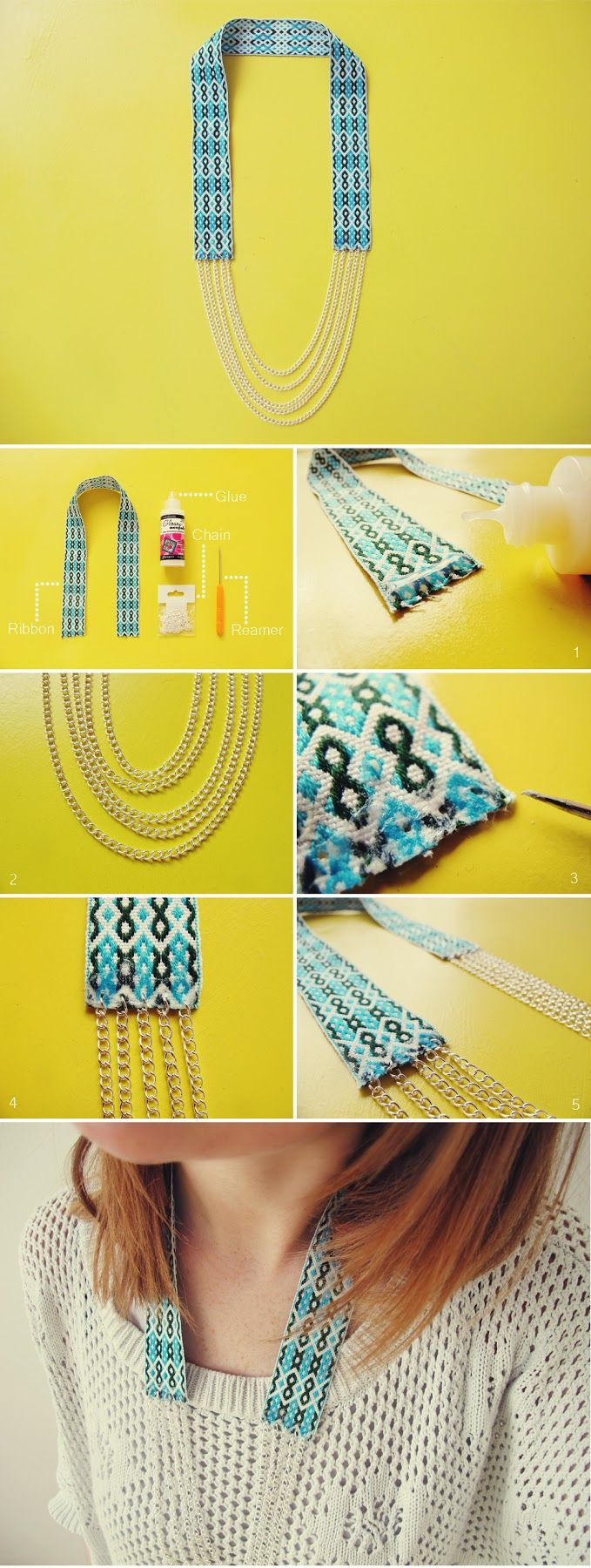 teahab: DIY: Fiona Paxton inspired necklace