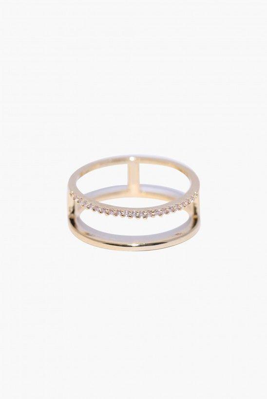 Stack Em Ring In Gold
