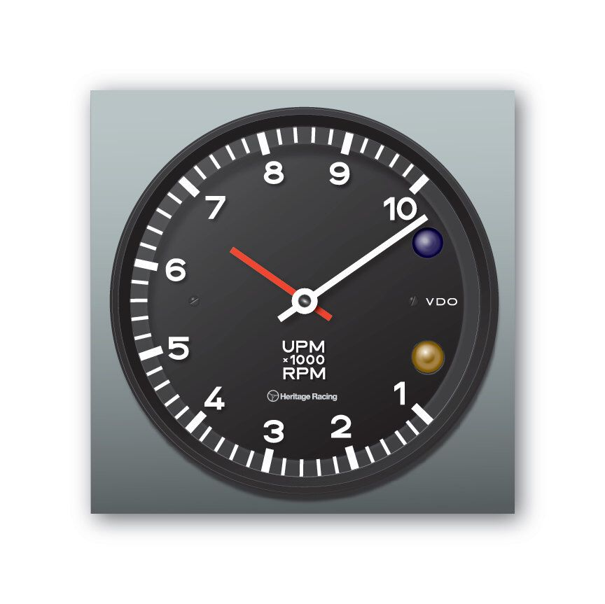 Porsche 917 Tachometer Wall Shelf Clock Etsy Clock Tachometer Porsche 917