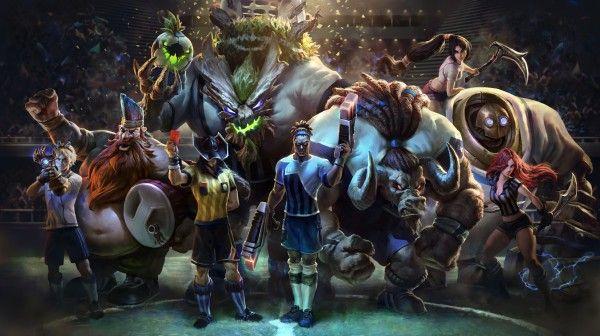 League Of Legends Soccer Stars World Cup Skins Ggwallpaper Com Liga Dos Lendarios Katarina League Of Legends Lendas