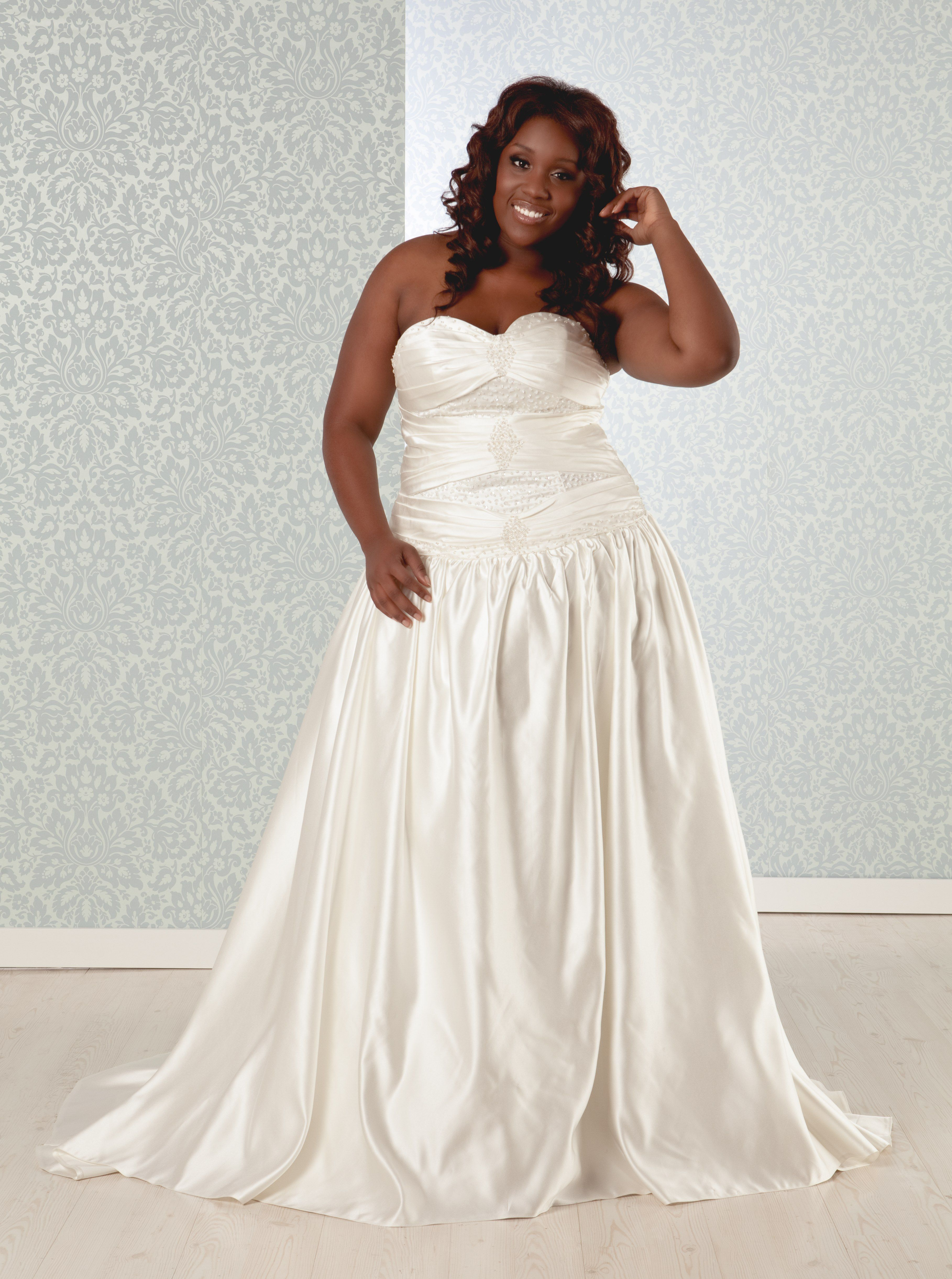 Real Size Bride | Plus size wedding gowns, Used wedding ...