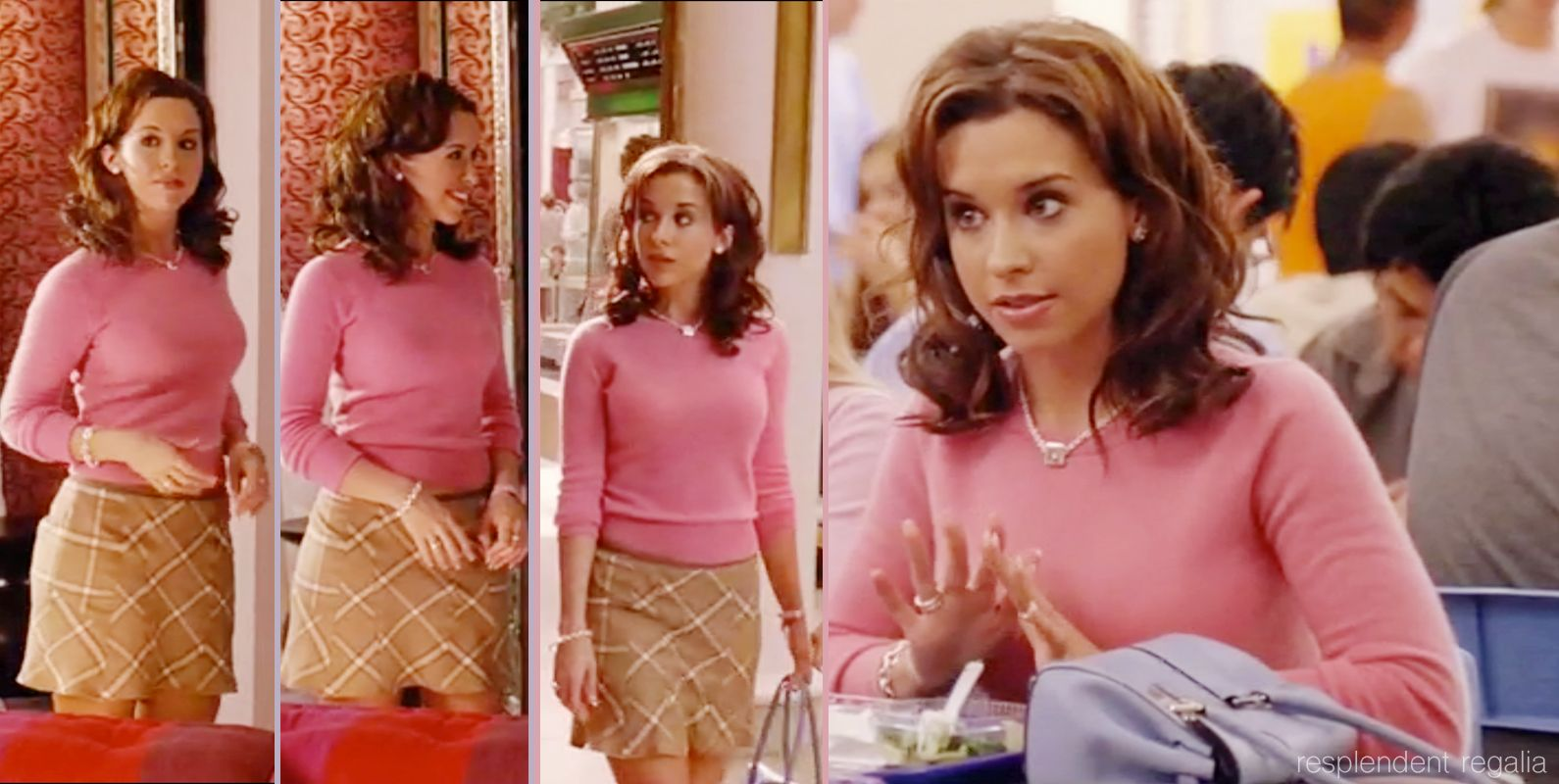 Gretchen Weiners (played by Lacey Chabert) in Mean Girls