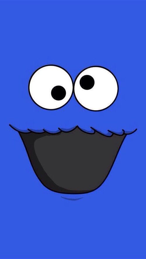 cookie monster iphone wallpaper hd