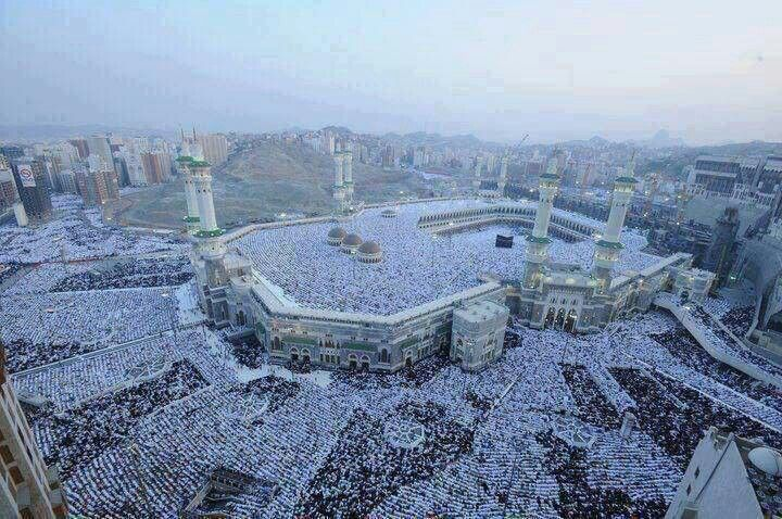 Eid Prayer In Makkah More Than 2 5 Million Peoples Masjid Al Haram City Masjid