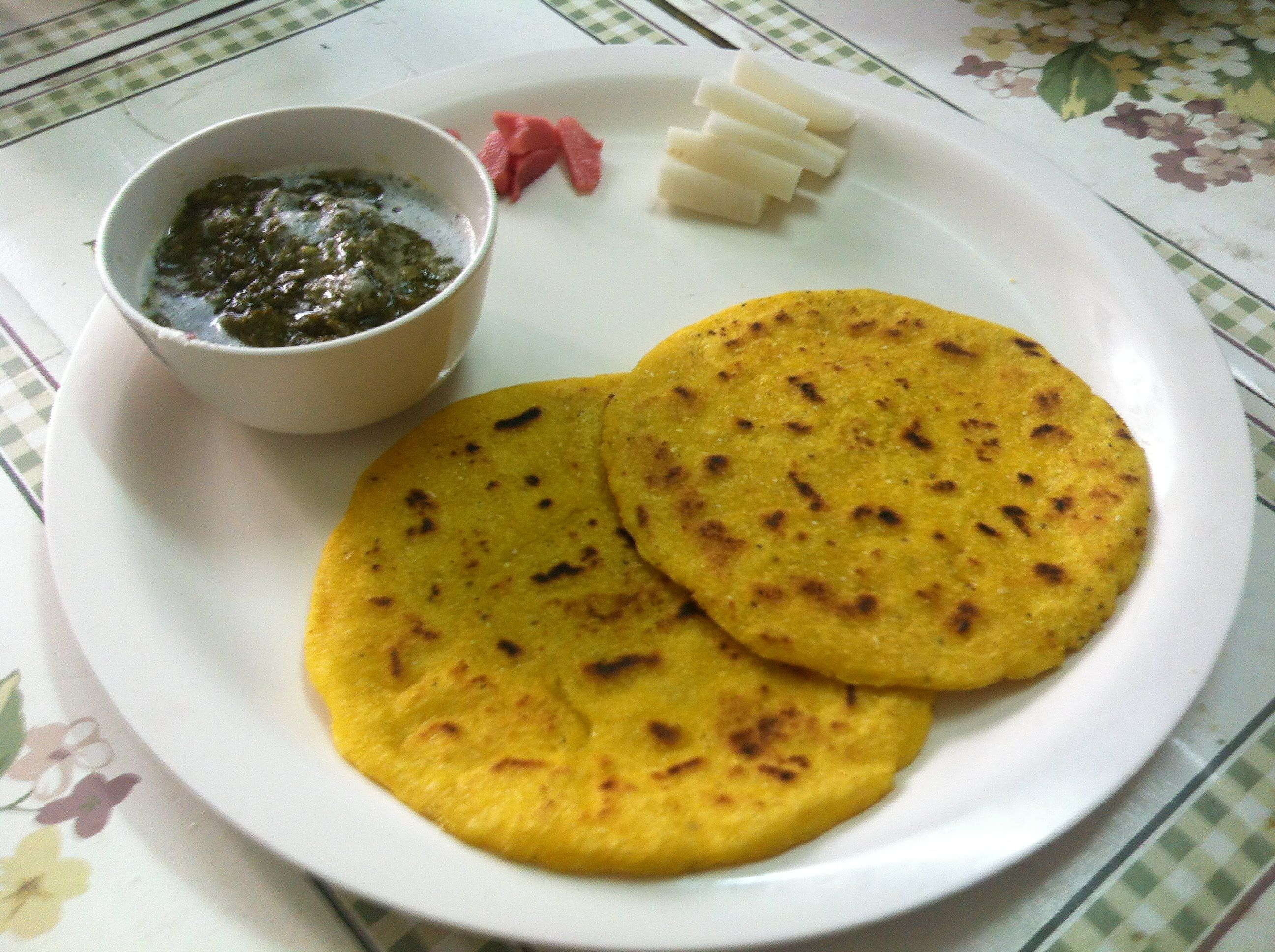 Sarson ka saag makki ki roti recipe video indian recipes sarson ka saag makki ki roti recipe video forumfinder