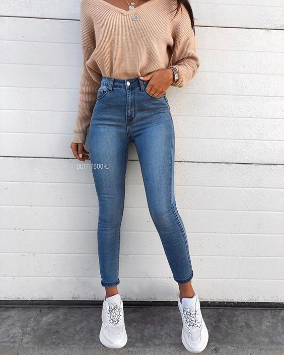 14 simple & trendy outfits for spring and summer 2019 # spring #summer #outfits … – summer fashion ideas