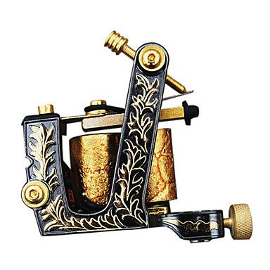 Top Quality Cast Iron 10-wrap Coil Tattoo Machine Shader