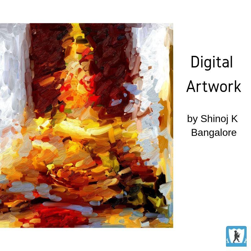 Digital Artwork By Shinoj K Bangalore Digital Art