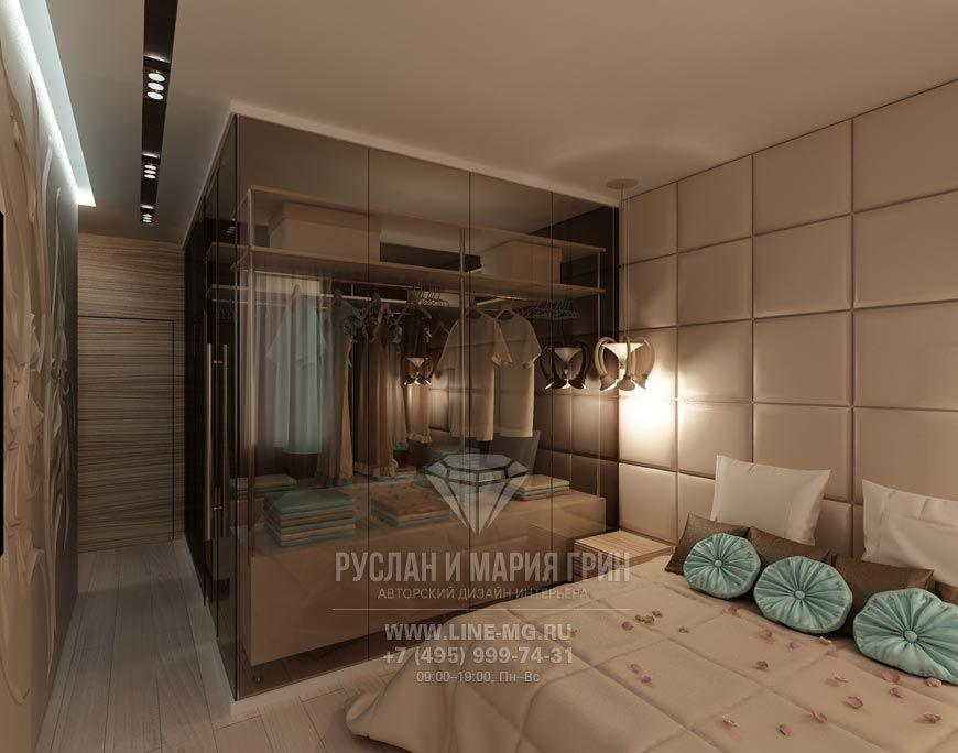 Дизайн спальни с гардеробной | дом | Спальня, Гардеробные ...  Дизайн Спальни С Угловой Гардеробной