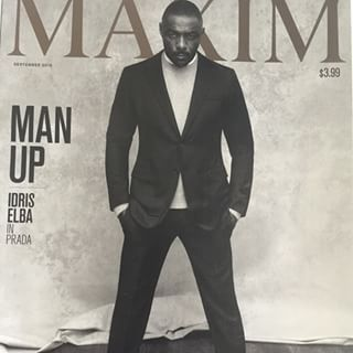 21 Times Idris Elba Gave You Life | In honour of his 43rd birthday. HBD, Idris! When he smoldered on the cover of Maxim magazine. | 21 Times Idris Elba Gave You Life