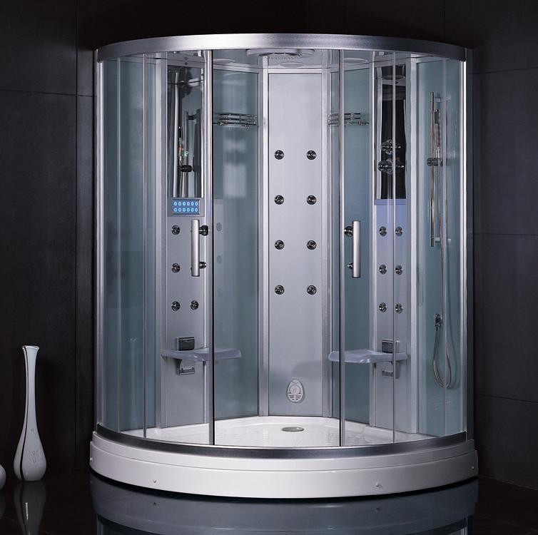 Ariel Platinum Dz938f3 White Acupressure Massage Steam Shower