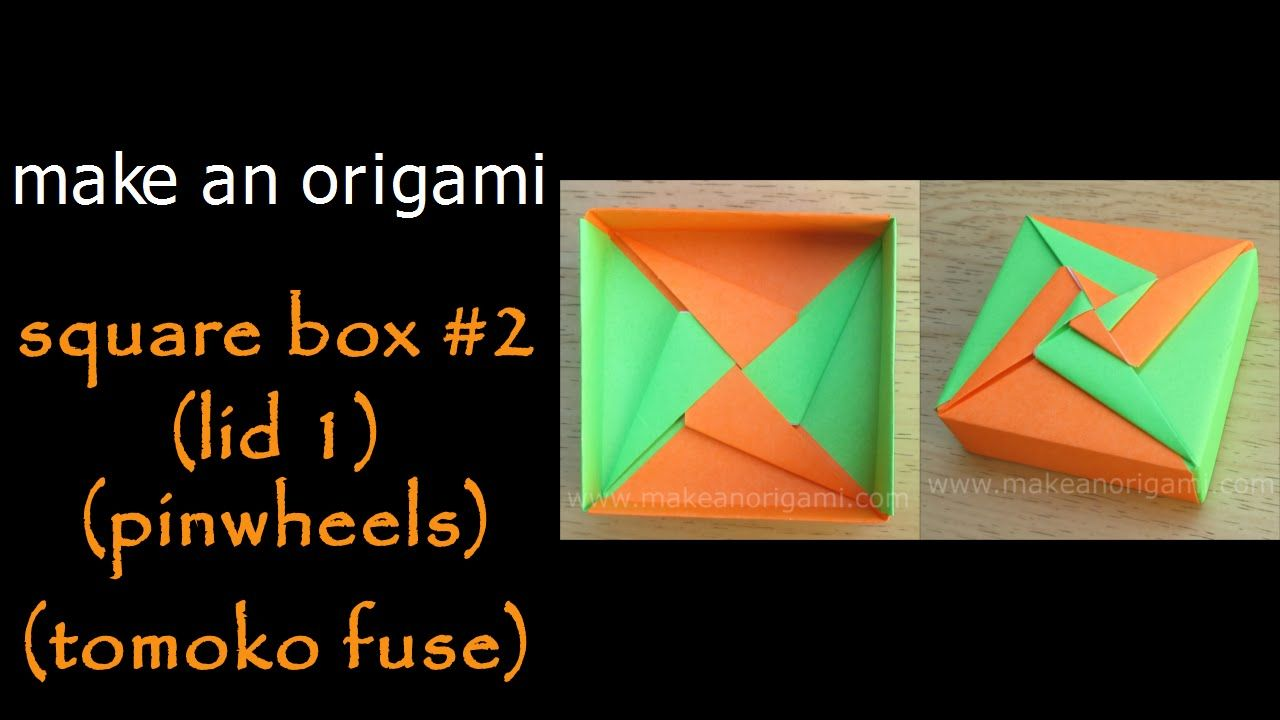 I Love This Pinwheel Origami Box Lid Pinterest Fuse