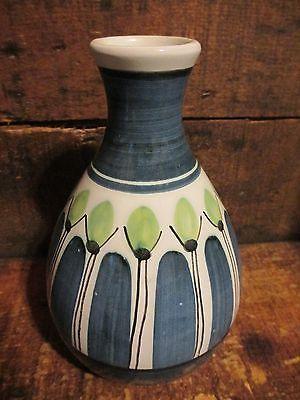 Mid Century Danish Ceramics Mid Century Danish Modern Elle Of Norway Scandinavian Pottery Vase