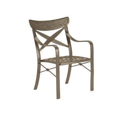 Tropitone Chimaya Dining Arm Chair Finish: Moab