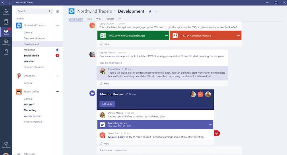 The Horror Of Microsoft Teams Productivity Apps Microsoft Chat App