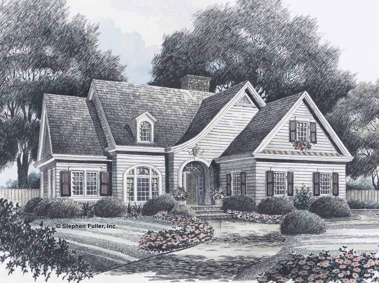 Traditional Style House Plan 4 Beds 3 5 Baths 3175 Sq Ft Plan 429 27 With Images Colonial House Plans House Plans Dutch House