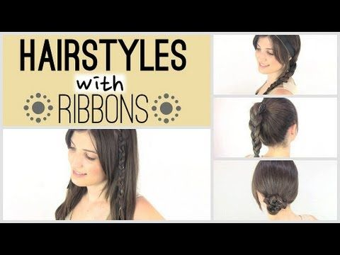 Miraculous Hairstyles With Ribbons Cute Hairstyles Pinterest Easy Hairstyles For Women Draintrainus