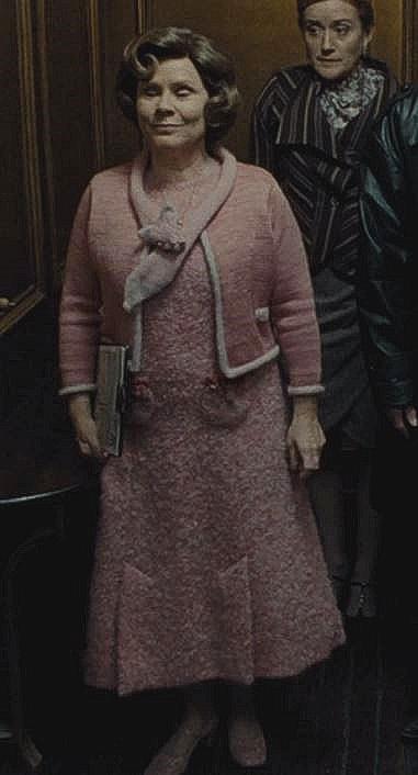 Dolores Umbridge Hp7 Part 1 Harry Potter Umbridge Harry Potter Films Harry Potter Costume