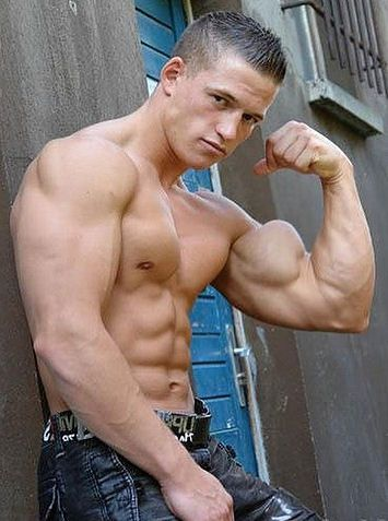 Dude with firm pecs is about nail them - 4 3