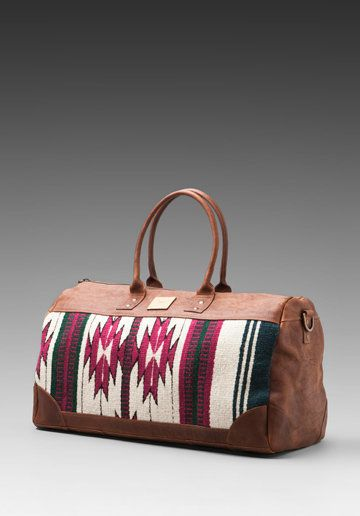 WILL Leather Goods Oaxacan Duffle Bag in Brown from REVOLVEclothing ... be39fbe6c8