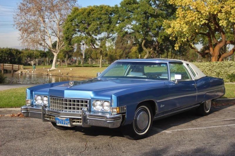 """73 Cadillac Eldorado ... w/ the """"World's Largest"""" production V8,"""