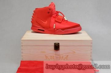 Authentic Air Yeezy 2 Red October
