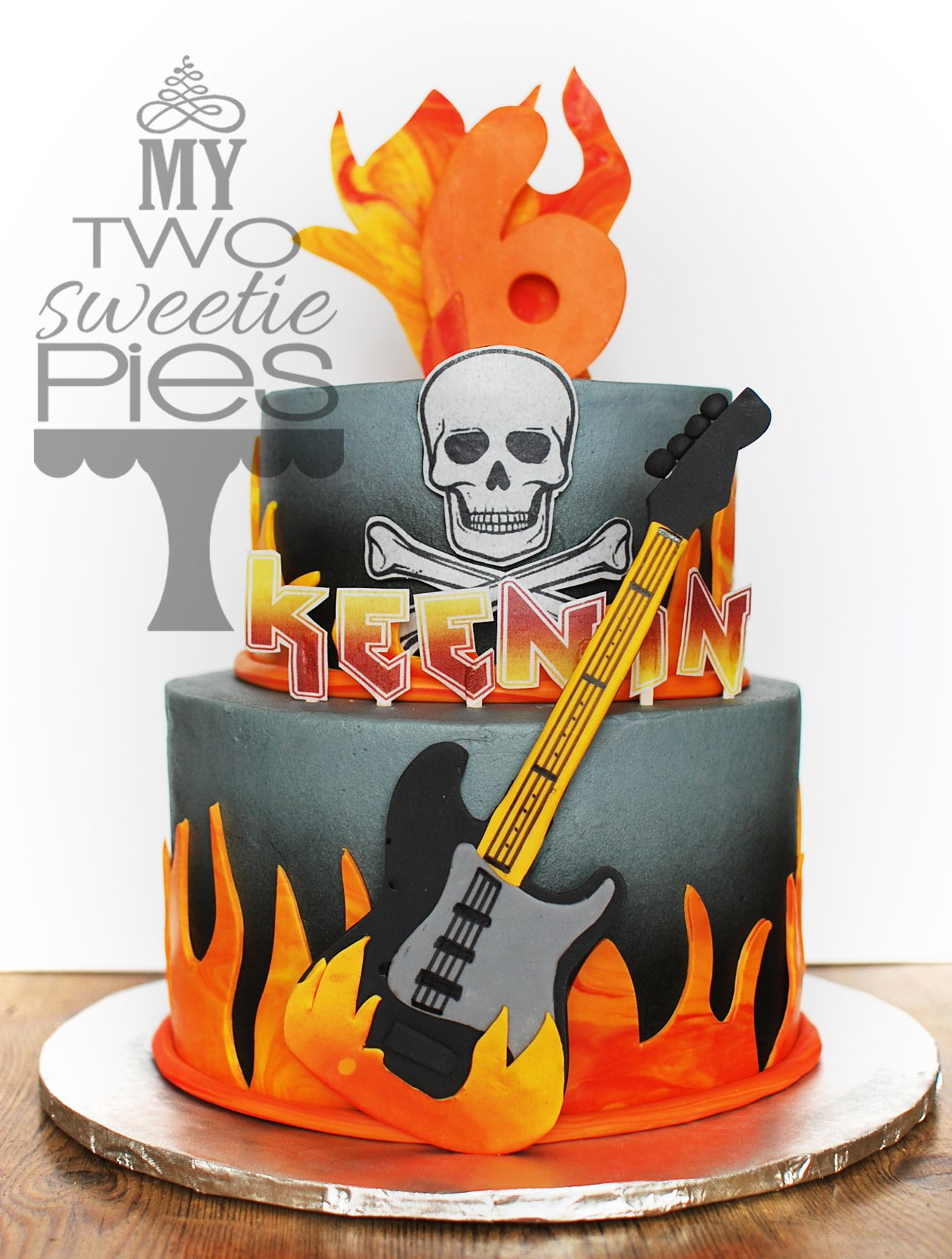 Rock N Roll Cake Bolos Decorados Decoracao De Bolo Bolo