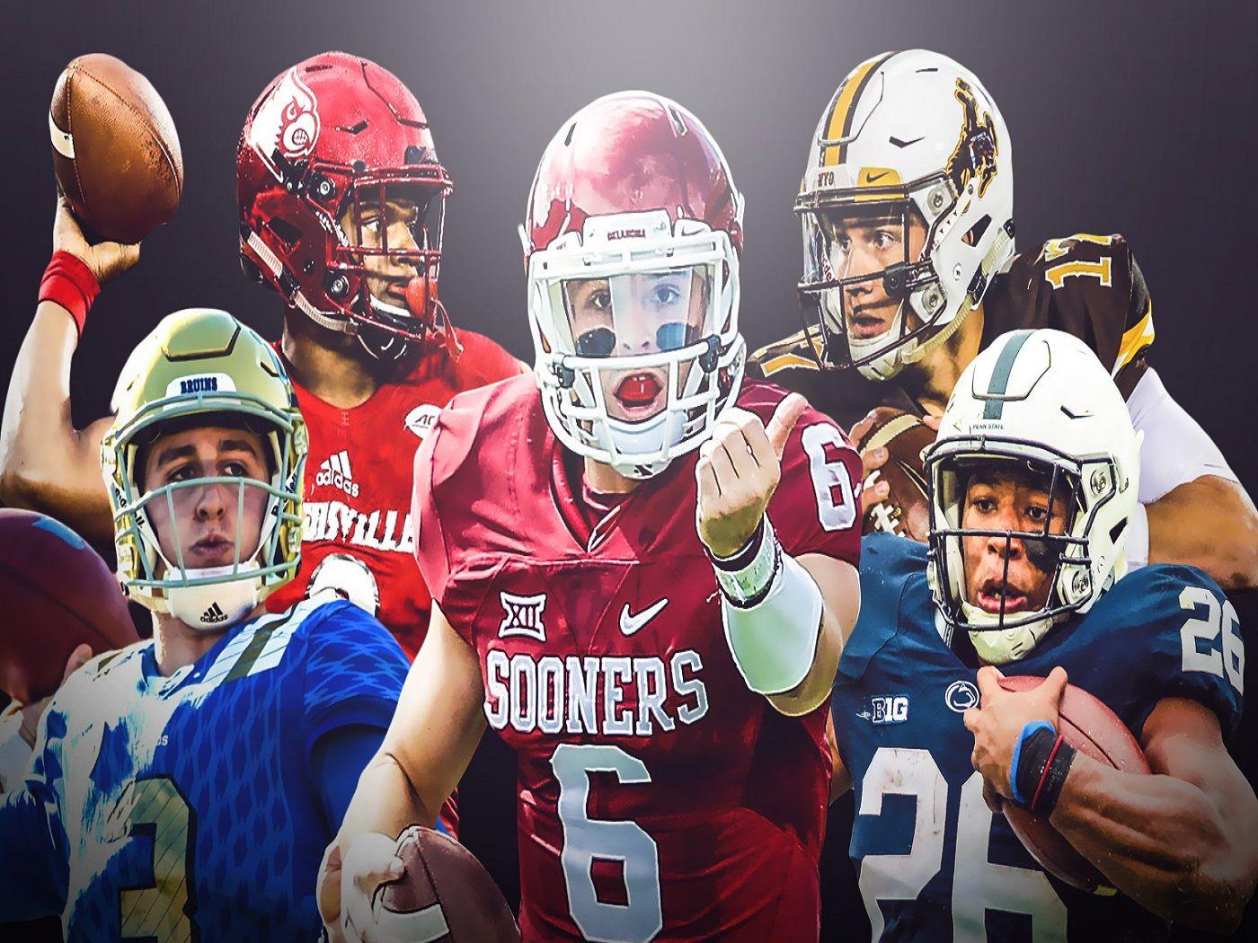 College football football helmets football nfl draft