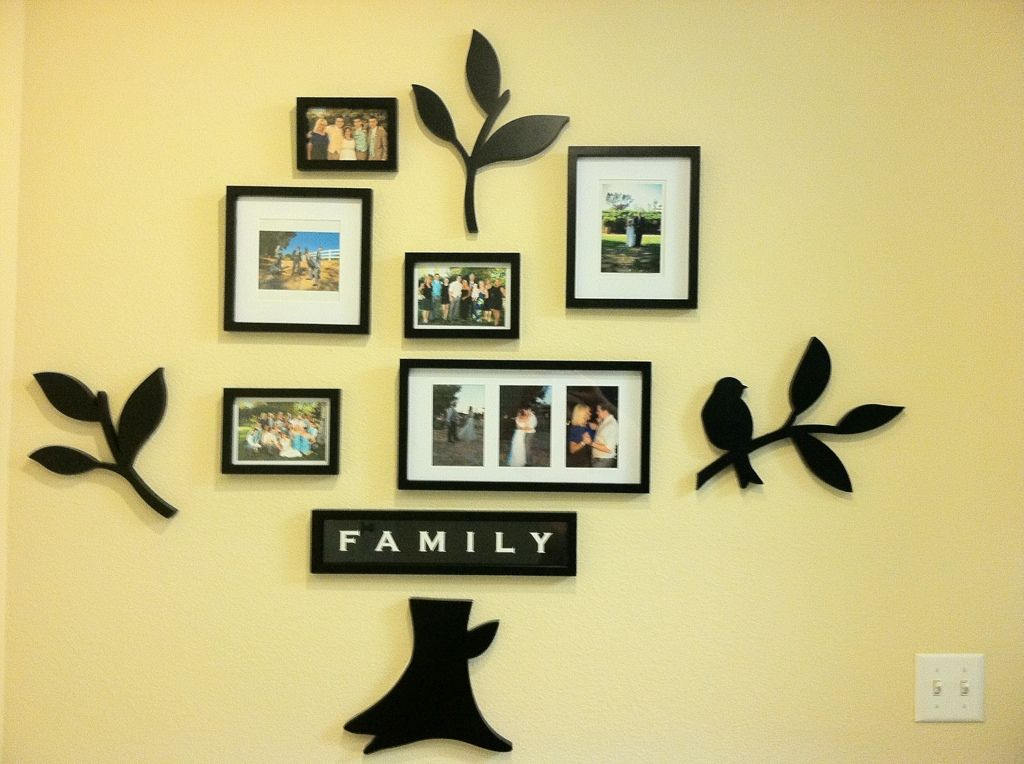 family tree picture frame set from bed bath beyond dream home pinterest picture frame. Black Bedroom Furniture Sets. Home Design Ideas