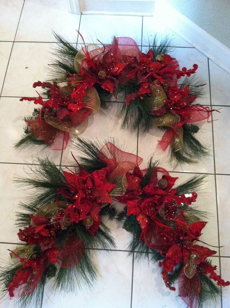 Christmas door decorations navidad puerta de navidad for Decoracion de puertas para navidad