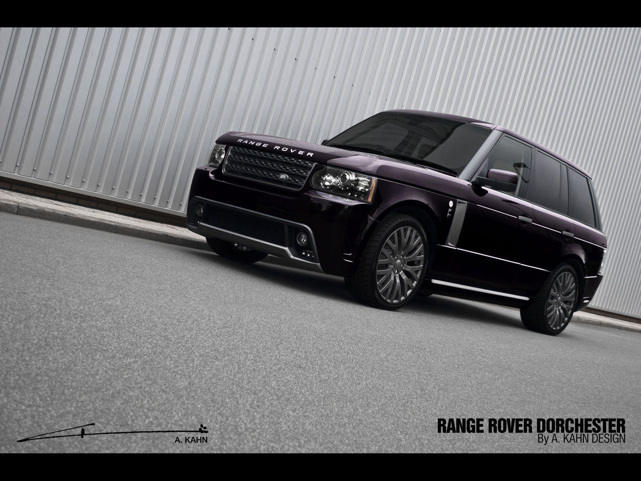 2012 A Kahn Design Range Rover Vogue Dorchester Edition