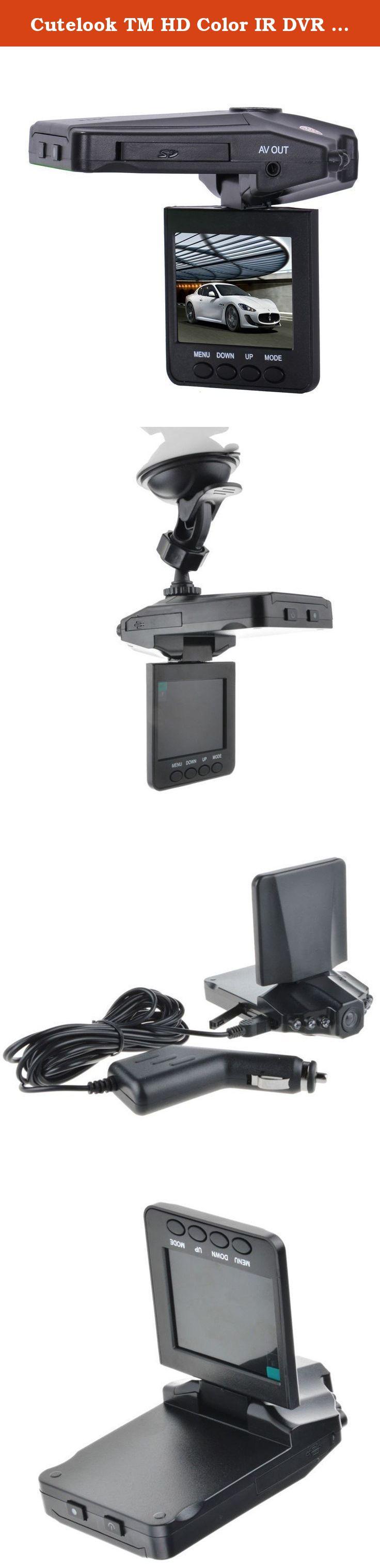 Cutelook TM HD Color IR DVR NightVision Car Dash Camera 2