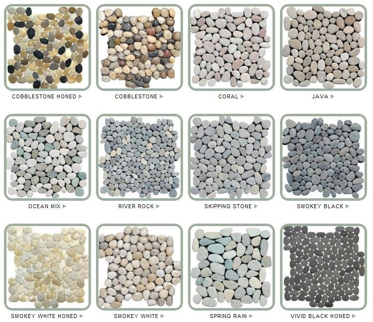 Bathroom Floor Stone Pebble Tiles Jill Stone