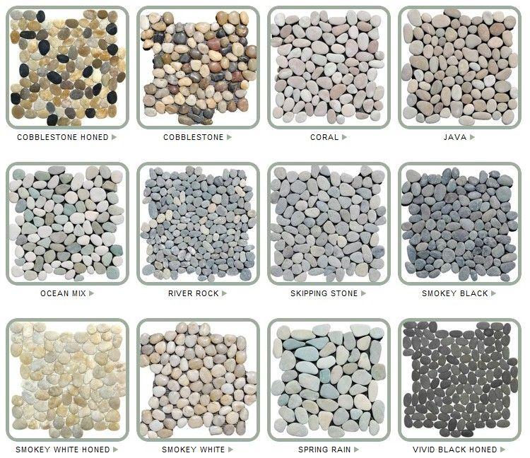 Bathroom Floor Stone Pebble Tiles Bathroom Shower Tile Shower
