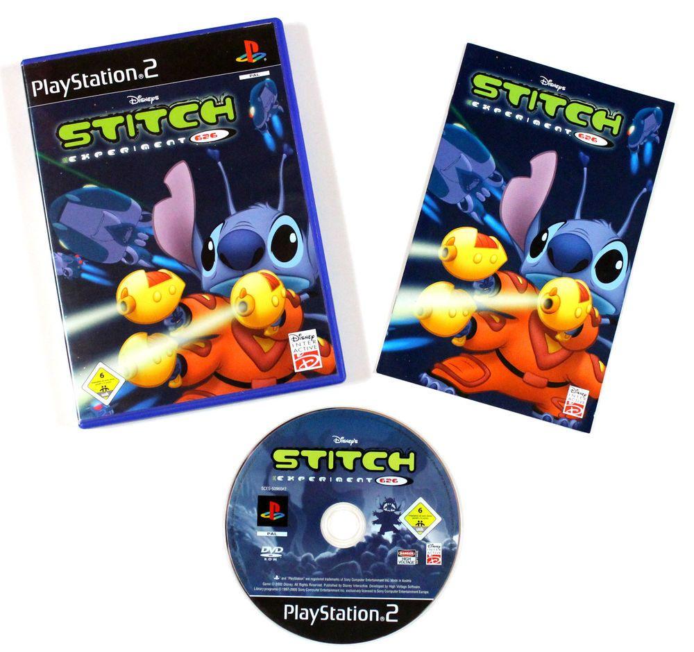 Lilo & Stitch: Stitch Experiment 626 für Playstation 2 in OVP!