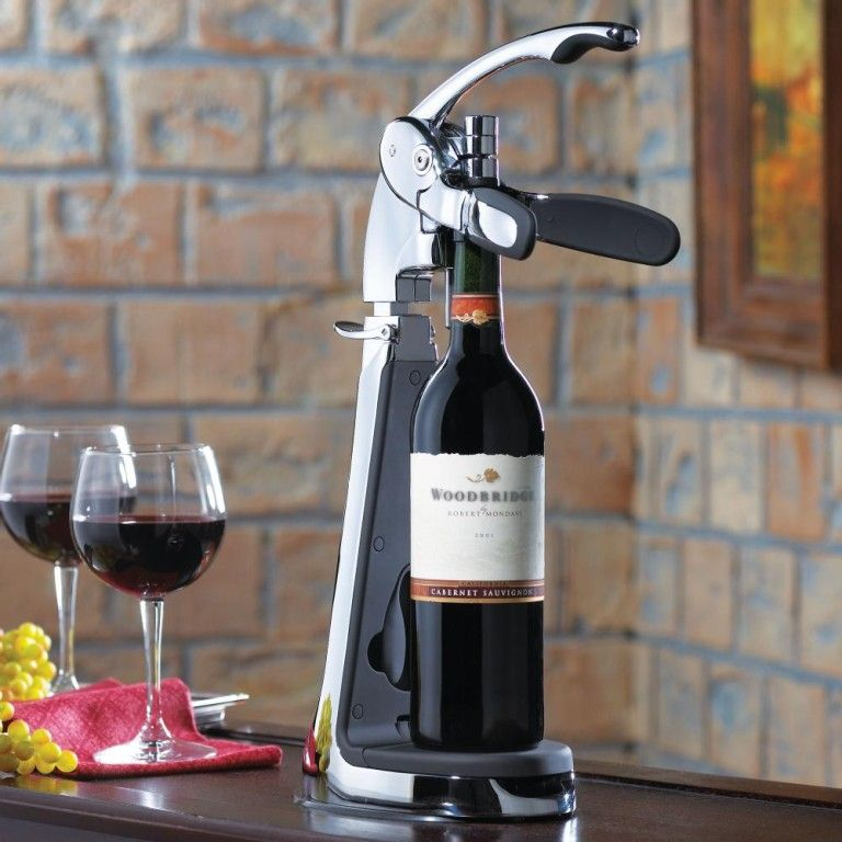 Table And Counter Top Wine Bottle Opener I Need This Tacas Vinhos Uvas
