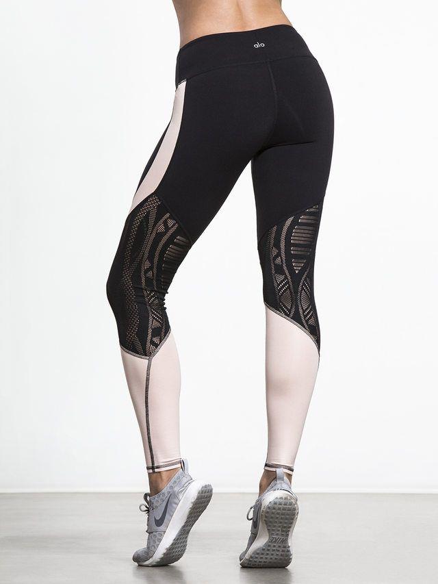 Amazon.com: Alo Yoga Womens Goddess Ribbed Legging