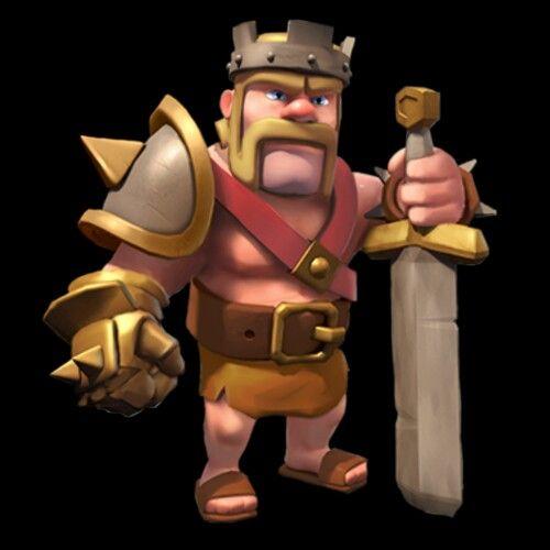 rei bárbaro clans of clash birlikler ve binalar pinterest