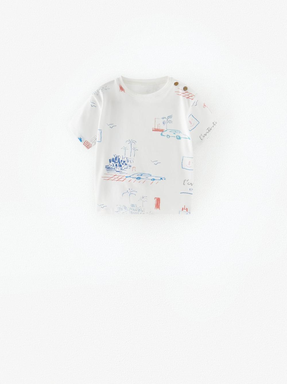 Ropa para bebé niño - ZARA España - Camisetas estampadas ...