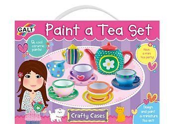 ♥ Galt Paint a Tea Set Art Craft Kids Toy Game Gift Party Set Learn to Make Tea♥