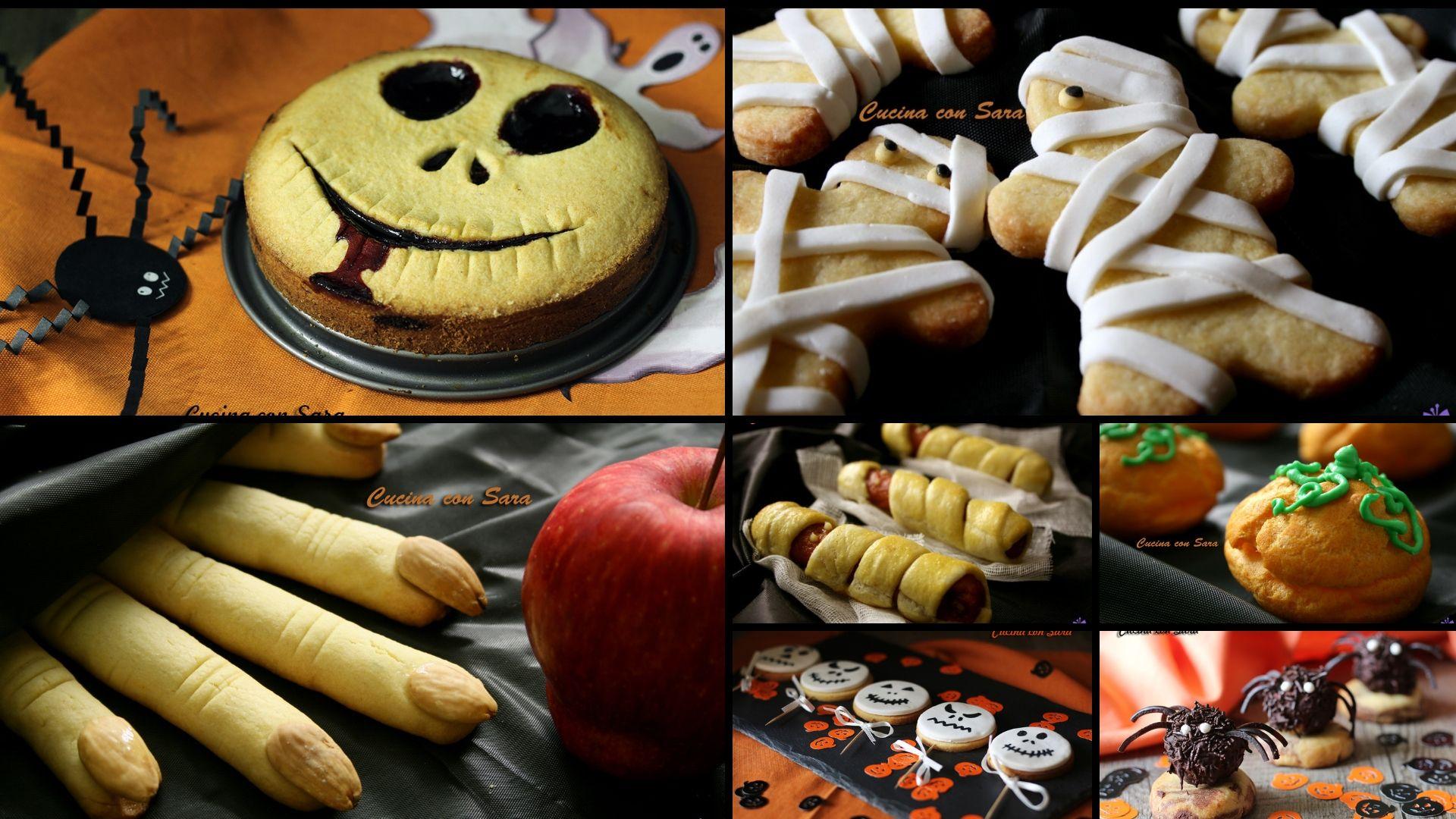 Ricette per Halloween, una raccolta di ricette dolci e ...