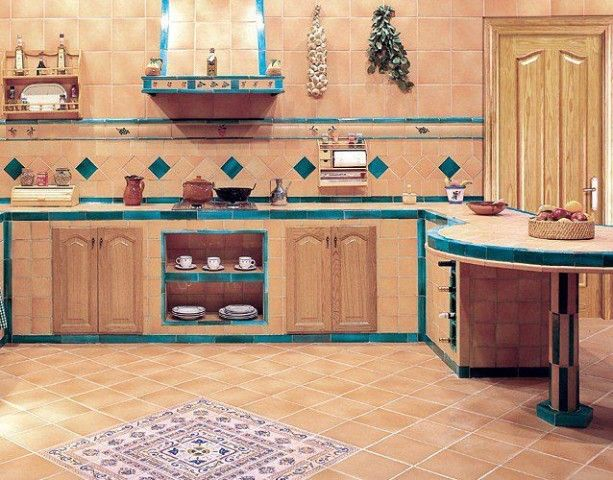 Cocinas de obra rusticas fotos cocinas pinterest - Imagenes de cocinas rusticas ...