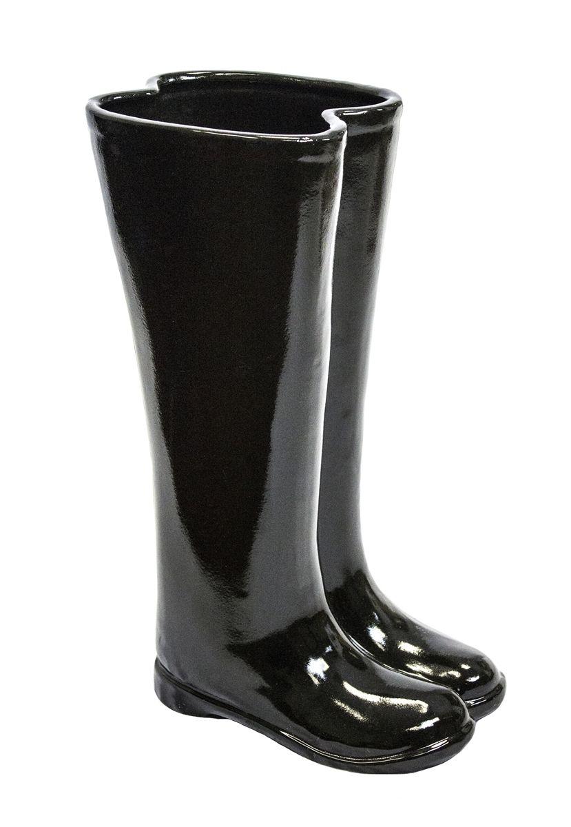 Black Boots Umbrella Stand Umbrella Stand Umbrella