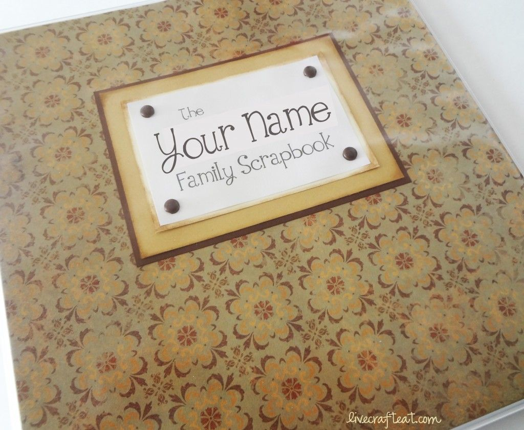 How to scrapbook easy - Here S An Easy Way To Scrapbook Extended Family Memories