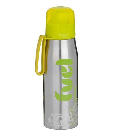 Take a look at this Green Fuel Stainless Steel 17-Oz. Sport Bottle by FUEL on #zulily today!