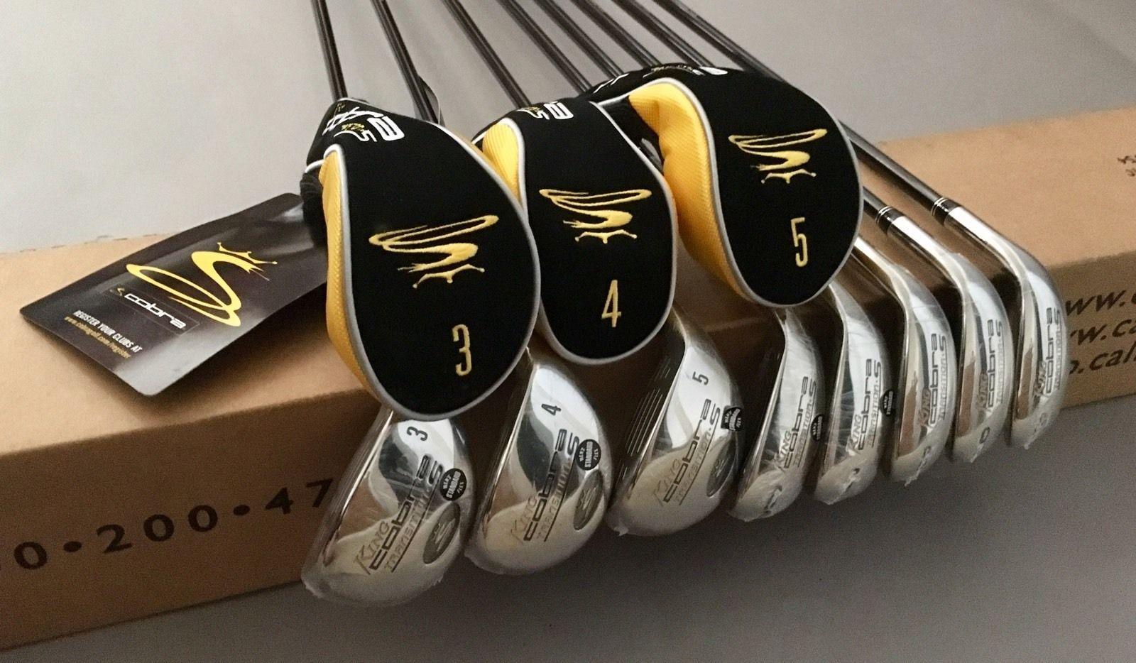 New King Cobra Transition S Irons 3-PW 65g Standard Flex Graphite Golf Club Set