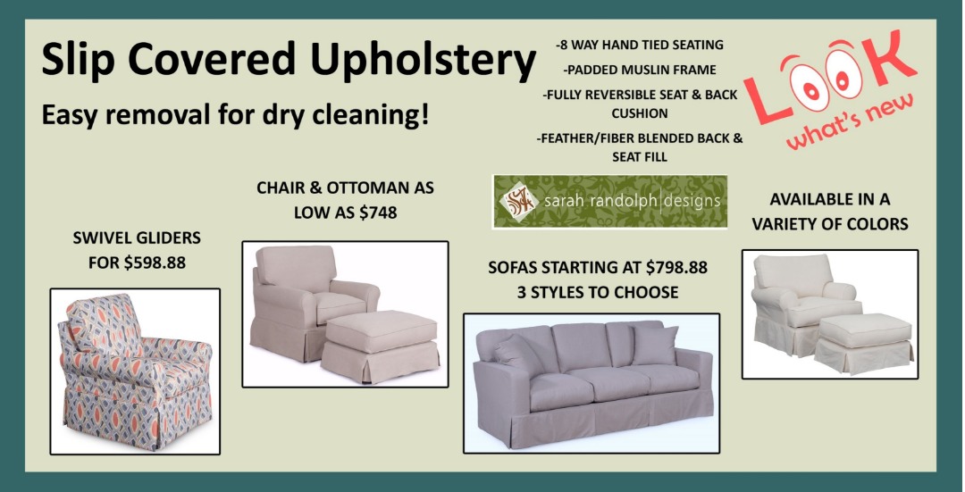Furniture Reupholstery · Slipcovered Upholstery Is Versatile U0026 Works In  Almost Any Room. Check Out Our Custom Sarah